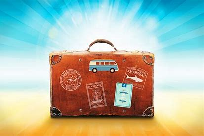Image result for free pics of suitcase on beach