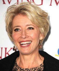 more pics of emma thompson short wavy cut in hair