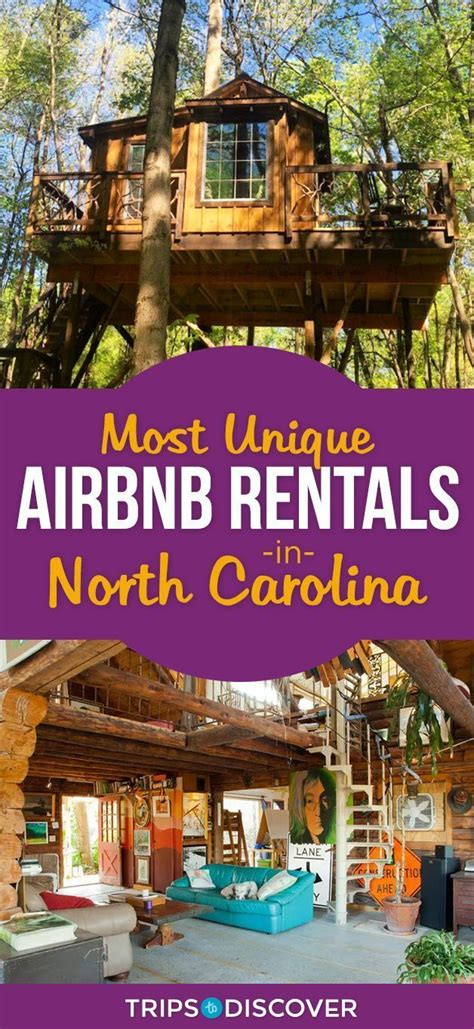 UNIQUE AIRBNBS IN NORTH CAROLINA PERFECT FOR A DIFFERENT