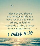 Image result for 1 Peter 4:10