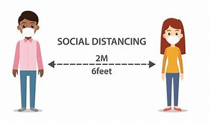 Image result for social distance and mask training