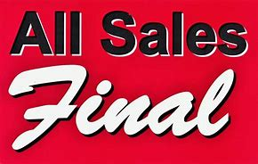 Image result for all sales final