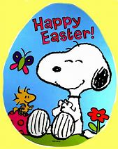 Image result for Happy Easter Peanuts