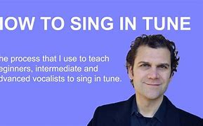 Image result for How to Sing in Tune