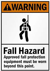 Image result for fall hazards