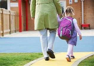 Image result for free picture of dropping off child at school