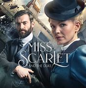 Image result for miss scarlet and the duke