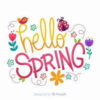 Image result for hello spring clip art free