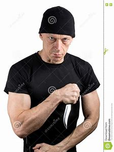 Image result for angry man with a knife