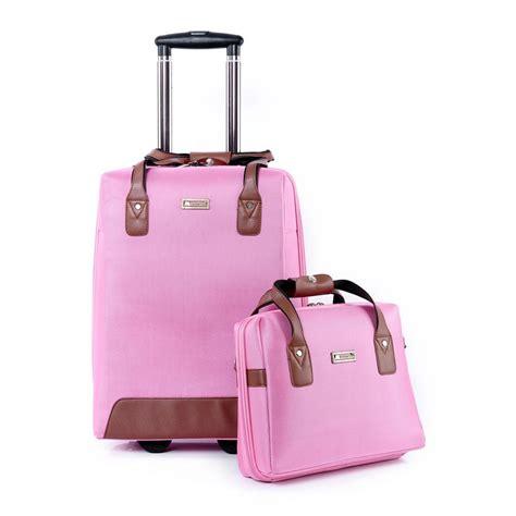 new woman luggage travel bag rolling bag luggage set