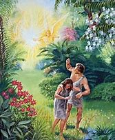 Image result for Adam and Eve Thrown Out of Garden