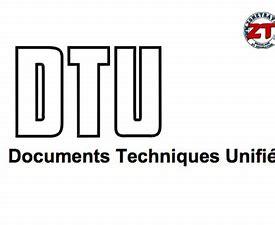 Résultat d'images pour logo Document technique unifié
