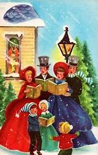 Image result for free picture of victorian carolers