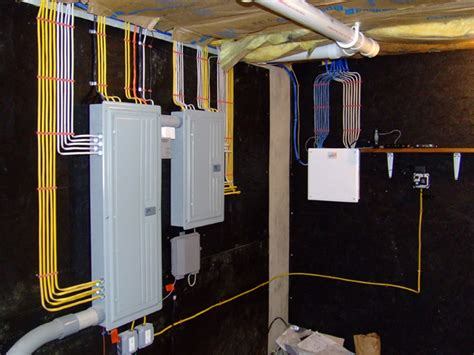 structured wiring and panels for residential homes