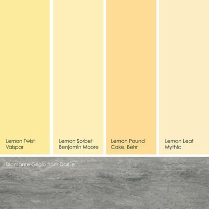 suggested yellow paint picks while not quite pastels