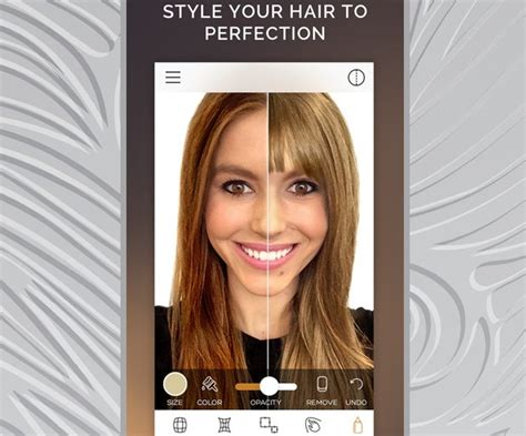 want to change your hair color these apps will show you
