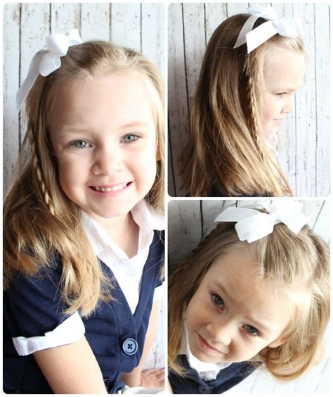 EASY HAIRSTYLES FOR LITTLE GIRLS IDEAS IN MINUTES