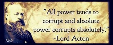 Image result for free pics lord acton power corrupts