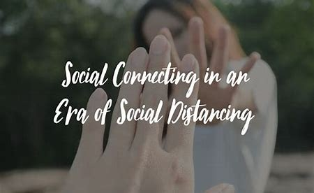 Image result for social distancing connecting