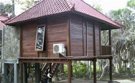 desain rumah kayu minimalis sederhana dan klasik