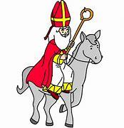 Résultat d'images pour saint nicolas sur un âne