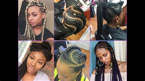 COOL BRAIDS HAIRSTYLE IDEAS FOR AFRICAN AMERICAN