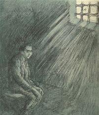 Image result for images illustrating genet poem le condamne a mort