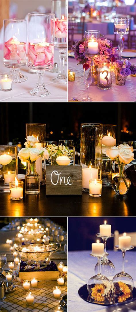 wedding ideas perfect ways to use candles for your big