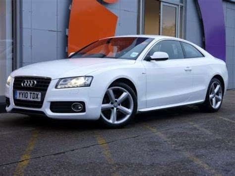 review our audi a s line tdi coupe white for sale