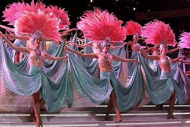 Image result for images las vegas showgirls dancing