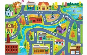 Image result for city map clip art