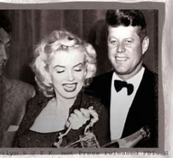 Image result for kennedy with marilyan monrole