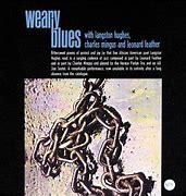 Image result for Langston Hughes Weary Blues