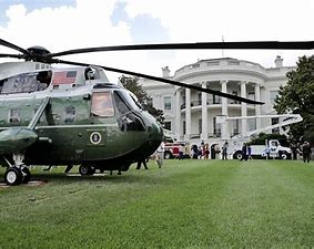 Image result for image presidential helicopter lawn white house