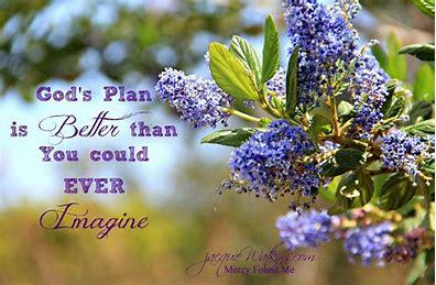 Image result for God's plan is bigger