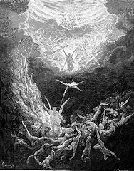 Image result for images fiery Armageddon dore
