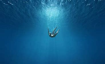 Image result for free picture of person ion deep end
