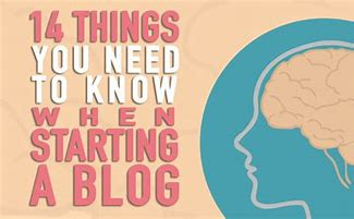 Image result for 14 things to consider before starting a blog