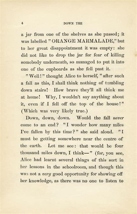 alice in wonderland book pages old design shop blog