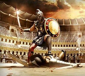 Image result for images roman gladiators colosseum