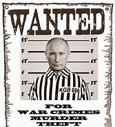 Image result for images of putin the war criminal