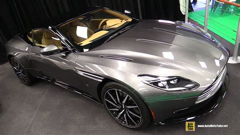 aston martin db launch edition exterior and