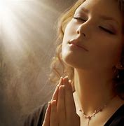 Image result for free pictures of woman praying with light shining on her