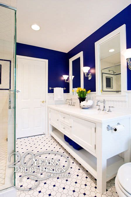 obsessed entire bathroom love contrast
