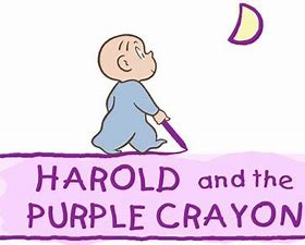 Image result for harold and the purple crayon