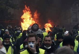 Image result for Yellow Vest Protesters