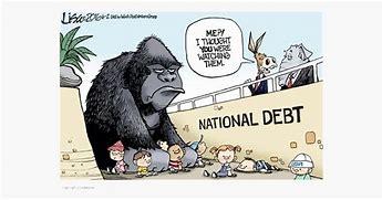 Image result for gigantic national debt cartoons