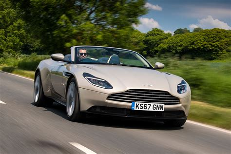 NEW ASTON MARTIN DB VOLANTE REVIEW AUTO EXPRESS