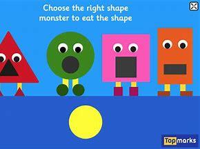 Image result for top marks shape monster game