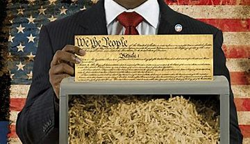 Image result for images of shredding the constitution